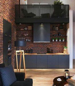 17 Elegant First Apartment Small Kitchen Bar Design Ideas 23