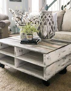 19 Easy DIY Coffee Table Inspiration Ideas 03