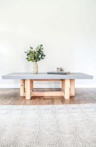 19 Easy DIY Coffee Table Inspiration Ideas 04