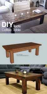 19 Easy DIY Coffee Table Inspiration Ideas 11