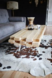 19 Easy DIY Coffee Table Inspiration Ideas 15