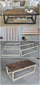 19 Easy DIY Coffee Table Inspiration Ideas 16