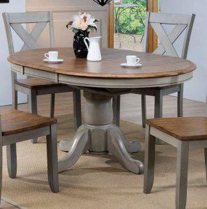21 Vintage DIY Dining Table Design Ideas 04