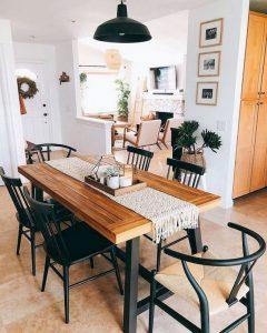 21 Vintage DIY Dining Table Design Ideas 15