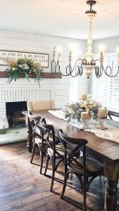 21 Vintage DIY Dining Table Design Ideas 22