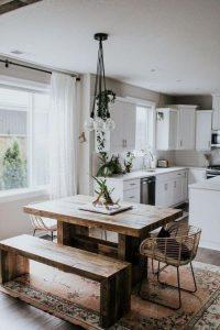 21 Vintage DIY Dining Table Design Ideas 27