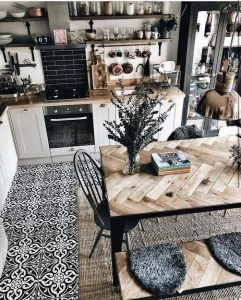 21 Vintage DIY Dining Table Design Ideas 29