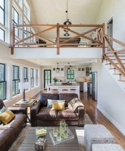 21 Warm And Cozy Farmhouse Style Living Room Decor Ideas 07