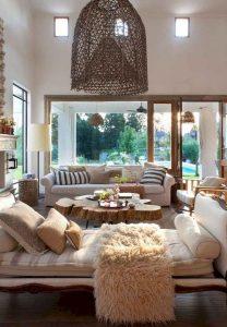 21 Warm And Cozy Farmhouse Style Living Room Decor Ideas 15