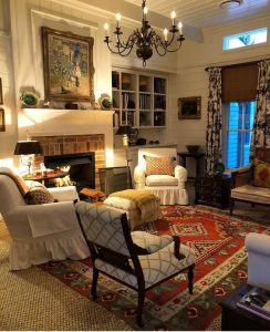 21 Warm And Cozy Farmhouse Style Living Room Decor Ideas 20