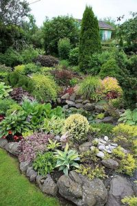 12 Best Ideas For Front Yard Rock Garden 01