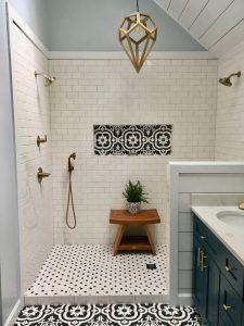 12 Best Inspire Bathroom Tile Pattern Ideas 26