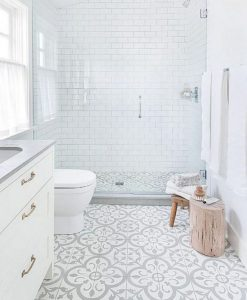 12 Best Inspire Bathroom Tile Pattern Ideas 40