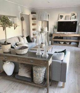 13 Cozy Farmhouse Living Room Decor Ideas 09