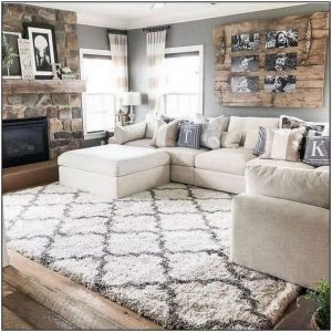 13 Cozy Farmhouse Living Room Decor Ideas 10