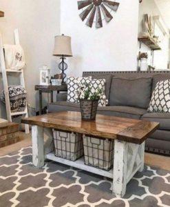13 Cozy Farmhouse Living Room Decor Ideas 23