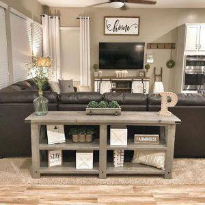 13 Cozy Farmhouse Living Room Decor Ideas 29