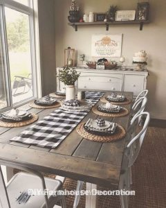 14 Incredible Rustic Dining Room Table Decor Ideas 13
