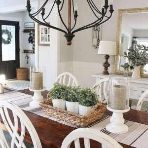 14 Incredible Rustic Dining Room Table Decor Ideas 25