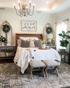 15 Adorable Small Master Bedroom Decoration Ideas 19