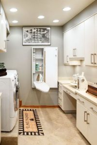 16 Brilliant Small Functional Laundry Room Decoration Ideas 06