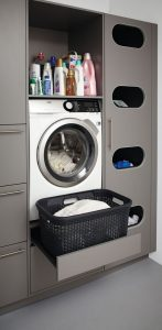 16 Brilliant Small Functional Laundry Room Decoration Ideas 10