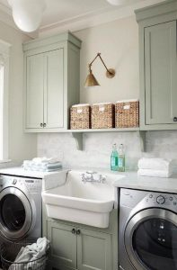 16 Brilliant Small Functional Laundry Room Decoration Ideas 11