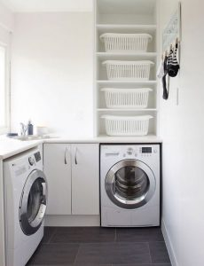 16 Brilliant Small Functional Laundry Room Decoration Ideas 15
