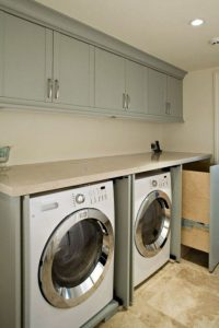 16 Brilliant Small Functional Laundry Room Decoration Ideas 19