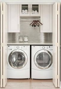 16 Brilliant Small Functional Laundry Room Decoration Ideas 24