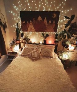 19 Creative DIY Bohemian Bedroom Decor Ideas 23