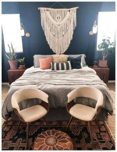 19 Creative DIY Bohemian Bedroom Decor Ideas 24