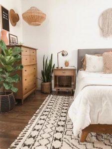 19 Creative DIY Bohemian Bedroom Decor Ideas 34