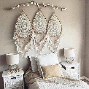 19 Creative DIY Bohemian Bedroom Decor Ideas 40