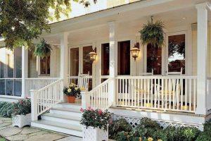 21 Stunning Farmhouse Front Porch Decor Ideas 04