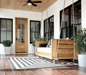 21 Stunning Farmhouse Front Porch Decor Ideas 05