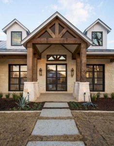 21 Stunning Farmhouse Front Porch Decor Ideas 29
