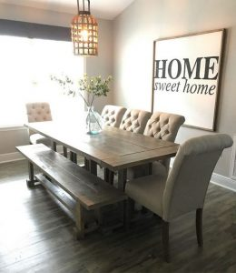 21 Totally Inspiring Small Dining Room Table Decor Ideas 19
