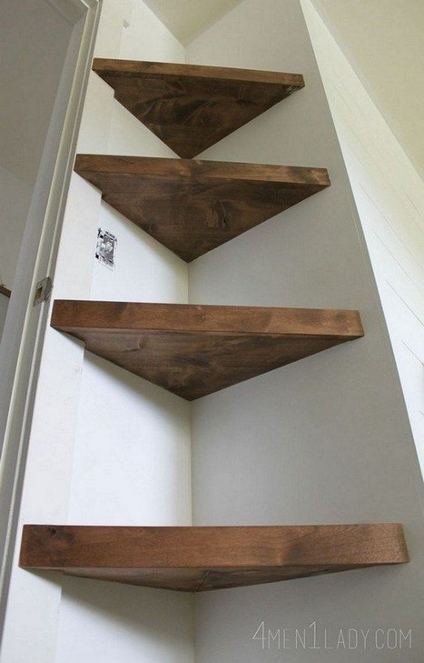 15 Amazing Corner Shelves Ideas 02
