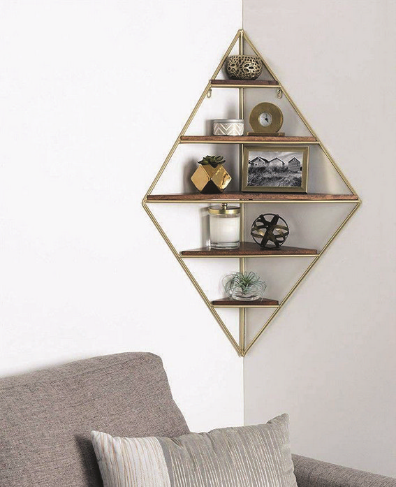 15 Amazing Corner Shelves Ideas 14