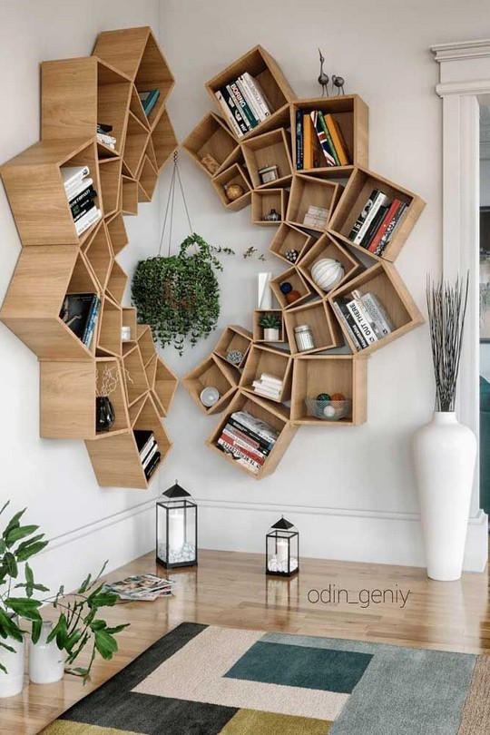 15 Amazing Corner Shelves Ideas 17