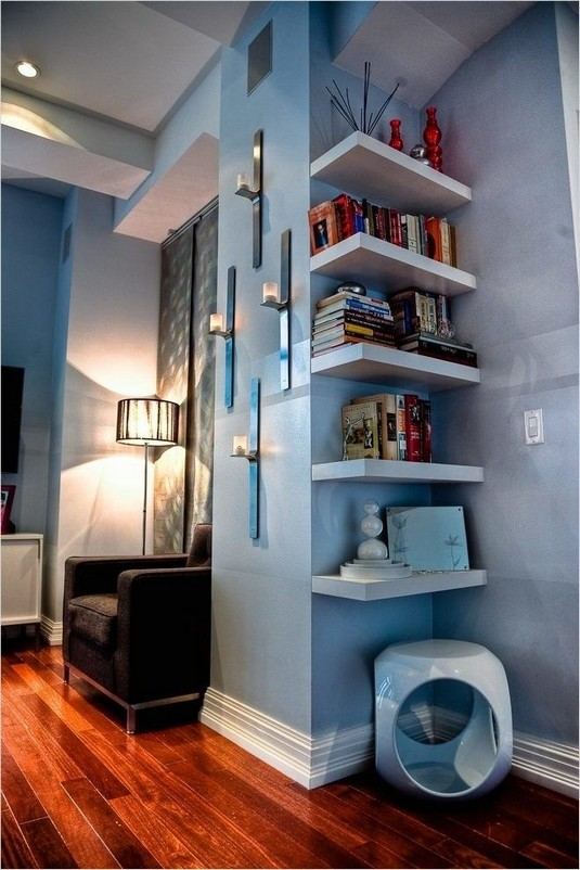 15 Amazing Corner Shelves Ideas 20