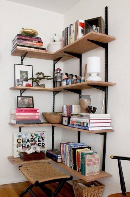 15 Amazing Corner Shelves Ideas 21