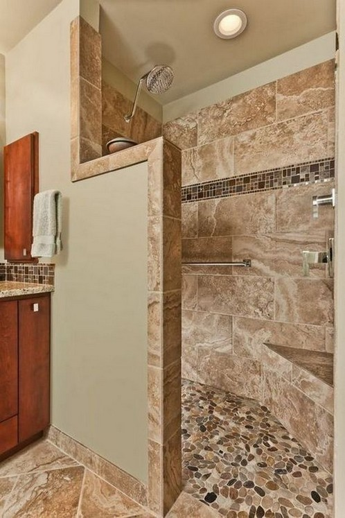 15 Beautiful Walk In Shower Ideas For Small Bathrooms 01