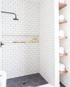 15 Beautiful Walk In Shower Ideas For Small Bathrooms 09