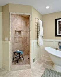 15 Beautiful Walk In Shower Ideas For Small Bathrooms 20