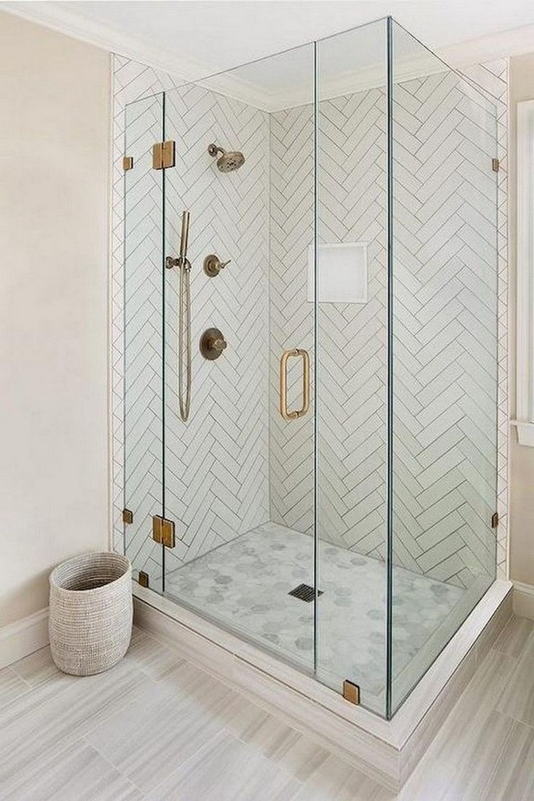 15 Beautiful Walk In Shower Ideas For Small Bathrooms 25