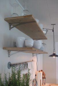 15 Models Bathroom Shelf With Industrial Farmhouse Towel Bar 23