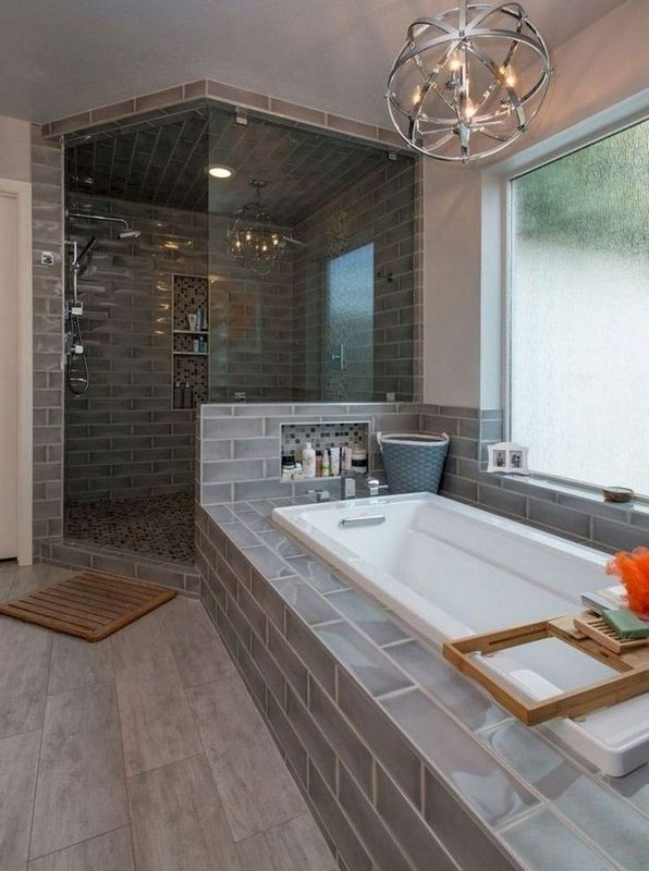 15 Pleasurable Master Bathroom Ideas 07
