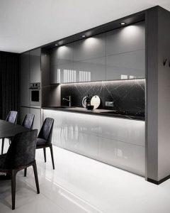 16 Amazing Modern Kitchen Cabinets Design Ideas 03